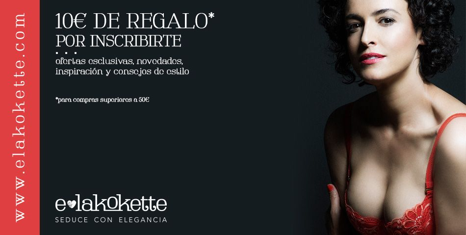 Blanca Romero posa en lenceria para E-lakokette