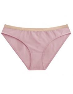 Braga de mujer de algodón orgánico sostenible rosa Miss Liberté Skin