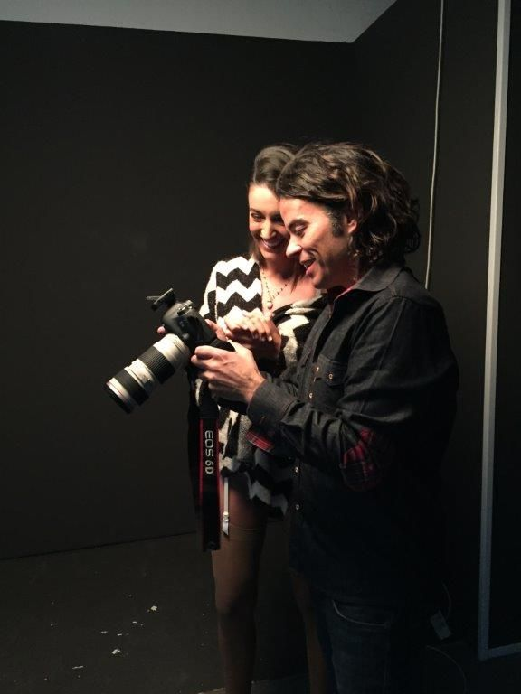 sesion de fotos en lenceria con Noelia Lopez 13