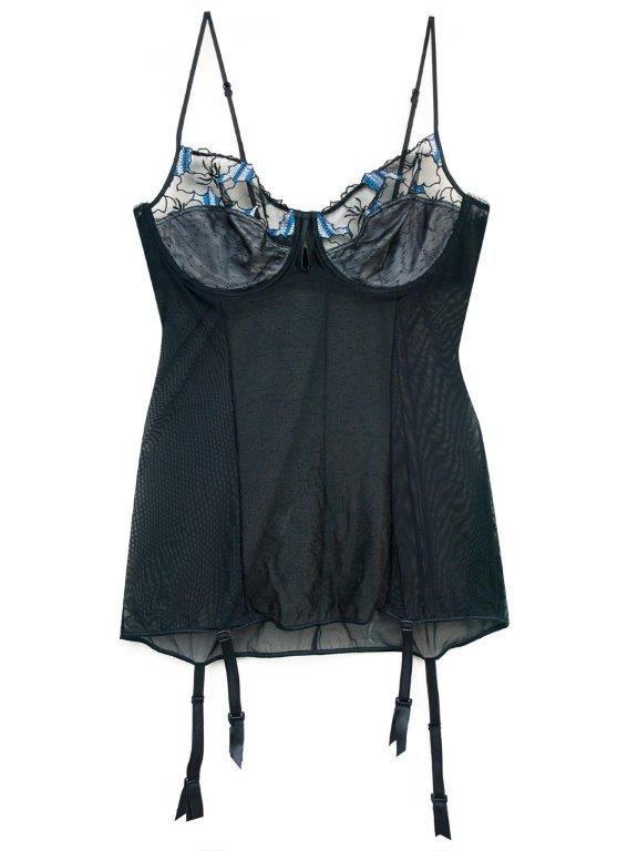 corset elegante con encaje E-lakokette