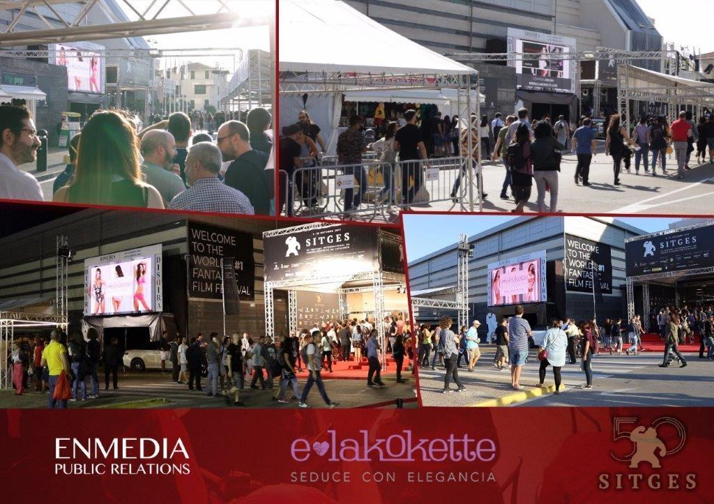 Lencería E-lakokette en el Festival de Sitges 2017