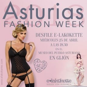 Lencería E-lakokette en el Asturias Fashion Week
