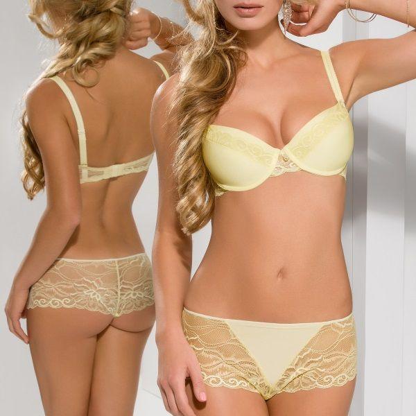 lencería para el verano: lencería amarilla