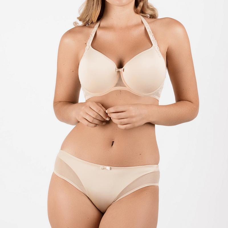 ideas para comprar en fin de rebajas -  lencería femenina en tonos nude